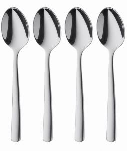 Bistro Stainless Steel Espresso Spoons Set of 4