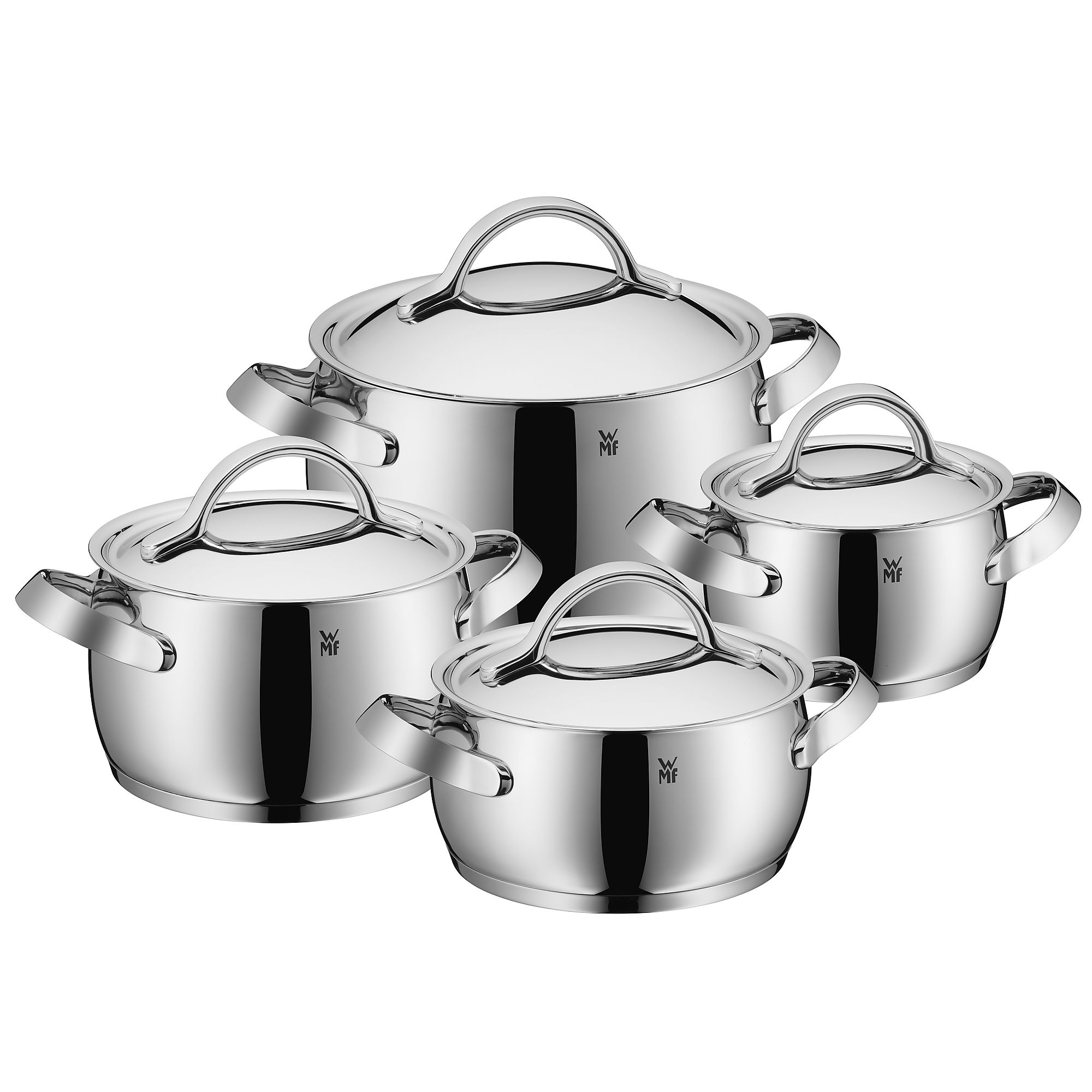 WMF 콘센토 콘체르토 8피스 쿡웨어 세트 (Made in Germany) WMF Concento 8-Piece Cookware Set