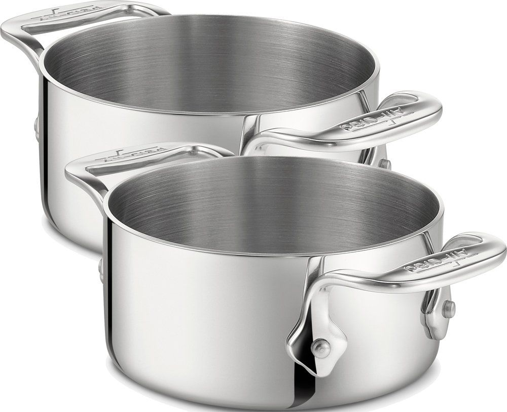 WMF 냄비 2세트 All-Clad 05-Qt Soup / Souffle Ramekins, Set of 2 / Stainless Steel - Second Quality